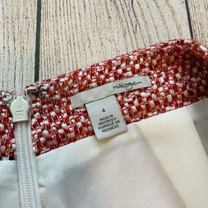 Halogen Skirts - HALOGEN Size 4 Pencil Skirt Red Ivory Blue Stripes